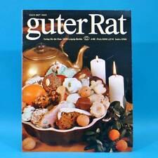 Guter Rat 4-1980 Verlag für die Frau DDR Tütensuppen Weihnachten Exlibris C