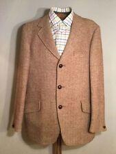 Herringbone Blazers Single Suits & Tailoring for Men