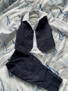 Monsoon Baby Boy  Suit 3-6 Months Perfect Condition