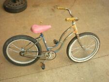 Vintage 1952 Schwinn  20'' girls Balloon tire Bicycle Bike