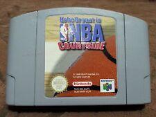 Nintendo N64 Kobe Bryant in NBA COURTSIDE Pal European Version