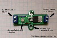 Reverse Voltage Polarity Protection Switch for Power Supply