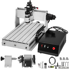 Usb 4 Axis 3040 300w Cnc Router 3d Engraver Engraving Drilling Milling Machine