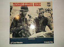 The Treasure of Sierra Madre, Laserdisc 4639-80, CBS/FOX Video, Extended Play