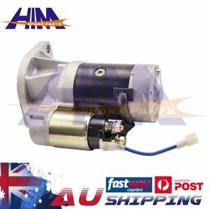 Starter Motor for Holden Jackaroo Rodeo TF 4WD Turbo 4JA1 4JX1 4JG1 Diesel 2.8L