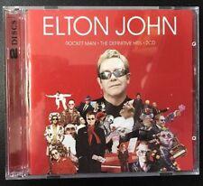 ELTON JOHN ROCKET MAN THE DEFINITIVE HITS  2 CD NEW & SEALED