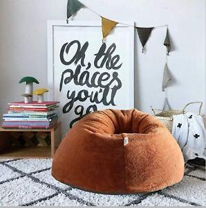Faux fur Bean Bag cover Fur Chair Furry Living Sofa Without Beans kids bag XXXL