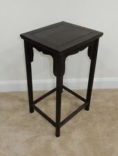 Gorgeous Antique Chinese Zitan Wood Side Table Rare! 27.5 inches