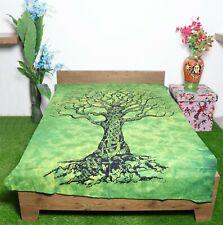 Mandala Tapestry Single Size Cotton Tree Of Life Wallhanging Bedsheet Wall Decor