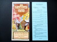 1949 Tremblant Club Travel Brochure - Mont Tremblant Quebec Canada