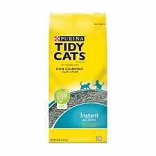 Purina Tidy Cats Non-Clumping Cat Litter 10 lb. Bags Instant Action households