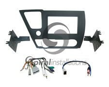 Radio Stereo Installation Dash Kit Combo DD + AMP Wire Harness + Antenna HO71