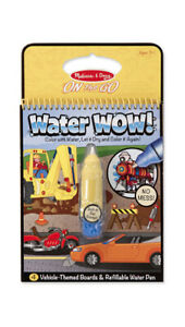 Melissa & Doug On the Go Water Wow! Water-Reveal Activity Pad Vehicle
