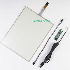 12.1inch 260.8x200.2mm 4Wire Resistive Touch Screen Panel USB kit for monitor