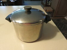Revere Ware 5 Quart Stock Pot Stainless Clinton, ILL, USA