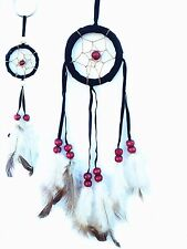Handmade Dream Catcher with feathers wall /car hanging ornament -bkh