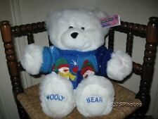 Chad Valley UK 18 Inch Wooly Teddy Bear in Snowman Sweater