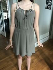 Perfect TWELFTH STREET by CYNTHIA VINCENT silk halter dress and sequin bra S