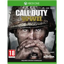 Cod Call of Duty WWII Ww2 Xbox One Xb1
