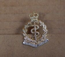 British Army Royal Army medical Corps Collar Badge Staybrite 1980's