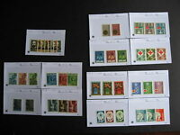 Sales cards stock breakdown, PORTUGAL MNH 1963-67 era,unverified,check them out!