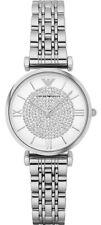 Emporio Armani Women's Quartz Crystal Pave Stainless Steel Watch AR1925