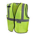 DEWALT DSV220 Reflective Class 2 Safety Vest ANSI / ISEA 107 HI VIS