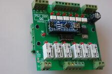 PLC Automata basado en Arduino Nano v3.0 shield (salidas a rele y entradas opto)