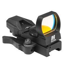 New NCStar D4BGQ Green Dot 4 Reticle Reflex Sight Site Optic QR Mount