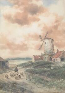 John Hamilton Glass. Original Watercolour. A Listed International Artist.