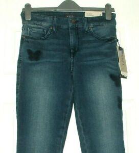 NYDJ  Ami Butterflies Skinny Legging Stretch Jeans Lift & Tuck UK 8  RP £159.95