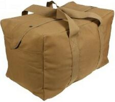 BigUS Mil Spec A3 Flyers Kit Bag Coyote Brown Large Duffel Tan Khaki Made in USA