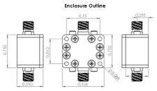 Low Pass Filter (LTCC Construction) Pass Band DC-530MHz