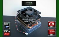 AMD Athlon X4 860K CPU Cooler Fan + Heat Sink with Near Silent Technology - New