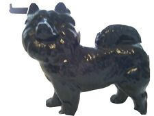 Black Chow Figurine By Cooper Craft