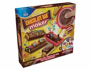 Chocolate Bar Maker Easy Chef Cool Moose Toys Create Your Own Chocolate Bar