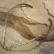 New Tara Mesa Braided Triangle Necklace