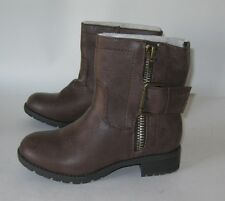 Brown Rugged Military Combat Riding Winter Ankle Sexy Boots Size 6.5