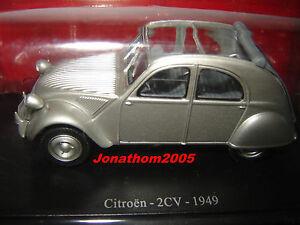 CITROËN 2CV  GRISE -  1949 au 1/43°