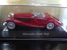 1/43 MERCEDES 540K 540 K ROADSTER 1936 IXO SPÉCIAL C NEUVE boîte d'origine