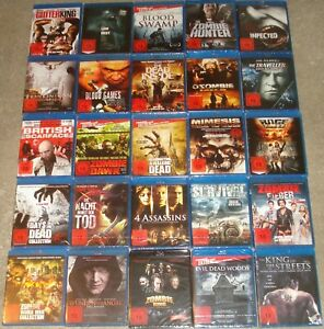 Blu Ray Paket Sammlung über 30 Filme FSK 18 NEU (3)