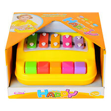 5 Keys Mni Simulation Knocked Piano Toy Xylophone for Toddlers Baby