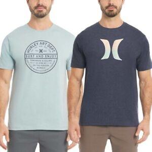 Hurley // Men's 2pk. [Graphic Logo/Crew] T-shirt #1487551 (Small)