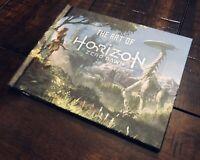 Horizon Zero Dawn PS4 Collector's Edition Hard Cover Art Book (No Game) Sony HTF
