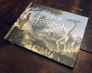 Horizon Zero Dawn PS4 Collector's Edition Hard Cover Art Book (No Game) Sony HTF