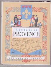 1950//VISAGE DE LA PROVENCE-COLLECTION PROVINCIALES//EDIT.HORIZONS DE FRANCE