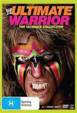 WWE - Ultimate Warrior Collection - 3 Disc DVD - with Hulk Hogan, Randy Savage