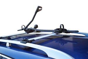 Alloy Roof Rack Frame Mounted Bike Bicycle Carrier Holder Black