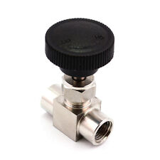 Needle Valve 1/4'' Female Thread BSP Stainless Steel 304 For Water Gas Oil