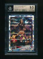 2014 Topps Chrome WWE Atomic Refractor AJ Lee BGS 9.5